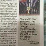 "And @timesofindia writes ""RIP Sachin Tendulkar"" !!! #Blunder http://t.co/RRJI5Upe0E"