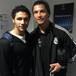 With Cristiano Ronaldo after the game http://t.co/J27Tfx3aYA