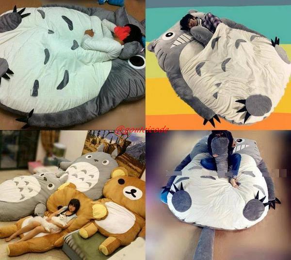 トトロと一緒というかトトロの中で寝たい人にオススメ♥