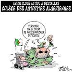 #ALGÉRIE... Avion de la Compagnie Nationale #AIRALGÉRIE Cloué au Sol a Bruxelles et Les Réactions des Autorités...!! http://t.co/JuV6d0eMui