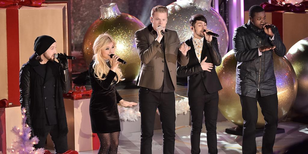 Pentatonix (@PTXofficial) Earn Their First-Ever Gold Record With #ThatsChristmasToMe! http://t.co/DKDSyNlQxC @PTXINDO http://t.co/aDIeDxJJc0