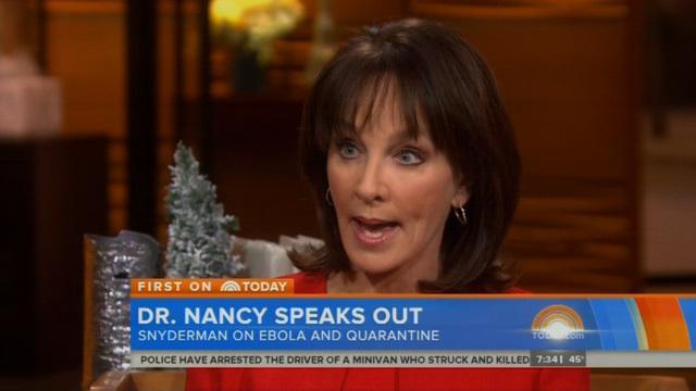 Nancy Snyderman: I'm sorry for breaking Ebola quarantine, BUT...