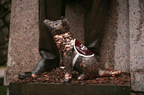 "Don't forget to ""put a penny on Sully"" for good luck on your exams! #BTHOFinals http://t.co/lcPdYpCphG"
