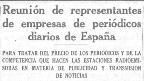 No está de más recordar estas noticias de hace casi 100 años. El enemigo no era Google, era…la radio! http://t.co/ysWKi9RajB