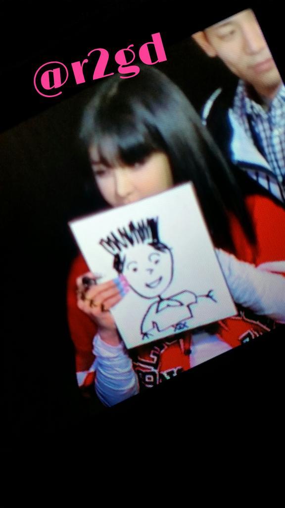 BOMが描いたスンリの絵ですwwwwww #2NE1 #BOM #FANEVENT #VI http://t.co/ShOYDKukwU