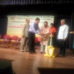 RT @jagdishshetty: Dr @Swamy39  & Goa Dy CM D'souza inaugurating the FINS Lecture Series at Panaji Goa http://t.co/9W1JUvyWE3