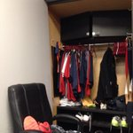 Wedding in Cleveland! Just stopped in for a quick workout! Still haven't cleaned out my locker I guess