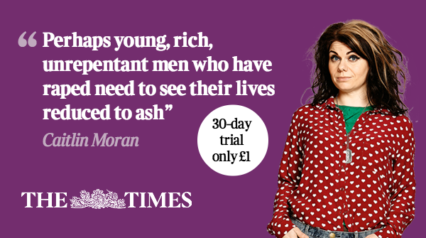 Perhaps redemption does women no good at all, writes Caitlin Moran http://t.co/0H4Y0VezDo http://t.co/ABBXyNz9Uq