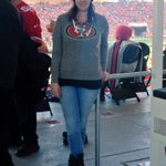 RT @laurawalker86: Wearing @TouchByAM at the last #sf49ers game of the season :) @Karileec16 @Alyssa_Milano http://t.co/uQsVpCSSg3