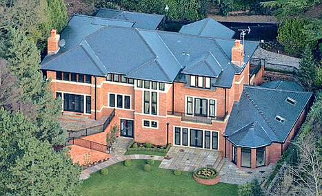 photo: house/residence of cool 5.5 million earning Greater Manchester, England-resident