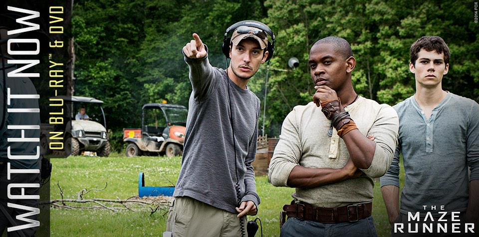 RT @wesball: Today's the day you can get your #MazeRunner dvd or bluray! http://t.co/p9g6tIJ3fM