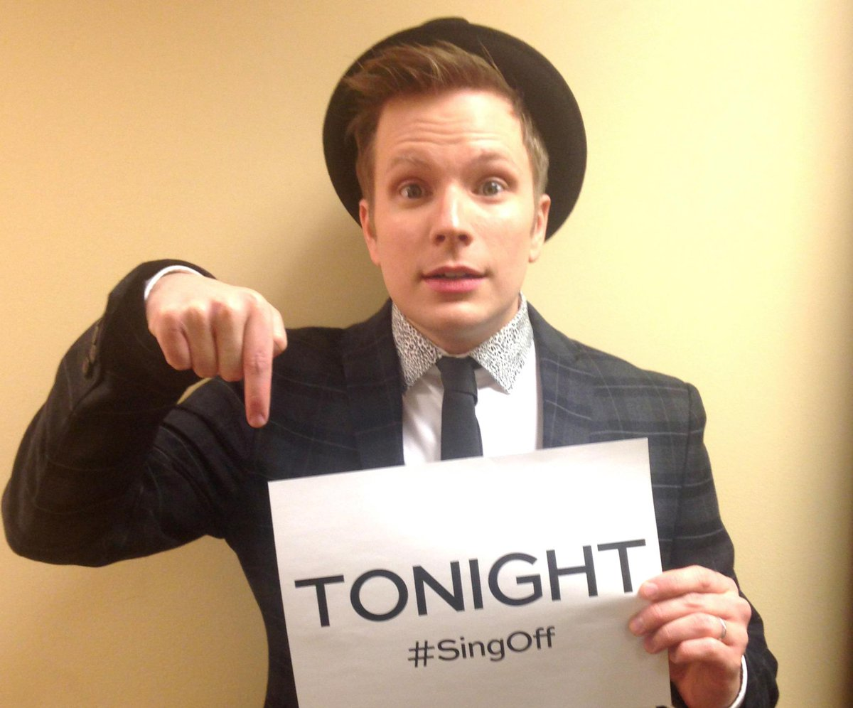 Join judge @PatrickStump TONIGHT at 9/8c for The #SingOff holiday special! http://t.co/uS5pW32LMz