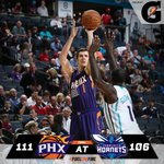 .@Gatorade #SunsAtHornets Postgame Report: Heres what we learned from Suns win. READ >> http://t.co/XKZThJiND5 http://t.co/rdVwA06UHZ