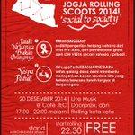 #2JRSday Jogja Rolling Scoots,social to society 20/12/2014.start at @cafeJEC finish at 0km .@JogjaStudent http://t.co/VVrk0OKCml