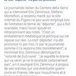 A propos de la manipulation des médias çoncernant Mr Zemmour http://t.co/9h6FCwRCHd