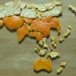 Mandarine geschält. Wartezeit beim Meldeamt sinnvoll genutzt. http://t.co/GACjWpMzh9