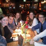 We had a nice dinner with our colleagues of @solarteamtwente. So great that the three Dutch teams get along so well! http://t.co/1B5Z9guJgA