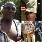 Senator Muthama after chaos in Parliament http://t.co/Qe3x9r59mm