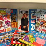 #win ALL these @ladybirdbooks & @PuffinBooks annuals, RT by 5pm today. 18.12.14. Two sets up for grabs! http://t.co/efTdLq5dTY
