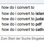 Google gives insights to the four major religions. http://t.co/sYoArWzALh