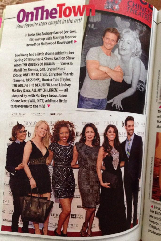 Thanks @AdriannaPapell @PistolandStamen @ArtconnStyles 4 the dress. Featured n @soapsindepthabc http://t.co/wAKwsY3flu