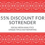@sotrender Christmas offer 55% off for first 3 months! #socialmedia #analytics #growthhacking http://t.co/kCeYEffII2 http://t.co/jZ0JAK2KLd