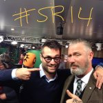 Ondertussen in het Glazen Huis! #3FM #SR14 http://t.co/W40PFxtIlN
