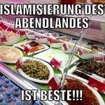 #Islamisierung des Abendlandes #ftw! Friss das #pegida #NOPEGIDA http://t.co/ThzPsFA9lm