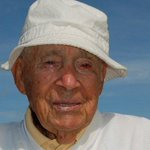 This is Gus Andreone. Gus made his EIGHTH career hole-in-one today. Gus is 103 (!!) years old.
