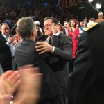 From the #Colbert Farewell: as a tape rolls, @StephenAtHome says farewell to Jon Stewart http://t.co/ybi7RV6MFv