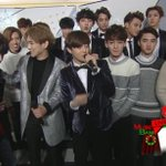 INFINITE & Toheart & EXOs Backstage Interview on Music Bank Special (2/6) http://t.co/Uwlg8LZSuG