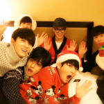 """TEEN TOP perform their holiday song """"Snow Kiss"""" on Music Bank year-end special! http://t.co/cejh43yoYT http://t.co/8VKpnJqt1K"""