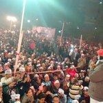 @ArvindKejriwal addressing the gathering at Jansabha of Malviya Nagar.Amazing response of crowd. http://t.co/wgx3gBqnhe