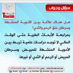 #سؤال_وجواب هل هناك علاقة بين الأدوية المنشطة و #سرطان_عنق_الرحم و #سرطان_الثدي ؟ #ذرية #الرياض #السعودية #العقم http://t.co/TI0q3VGw52