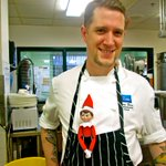 Finnigan helping Dan out in the kitchen! #SpicyElf #Elfontheshelf #yyj #FindChristmasHere #elf http://t.co/chWGfPrX2Q