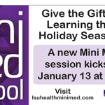 Another #MiniMed starts in January. Register at http://t.co/eor94aUVmd #Shreveport http://t.co/Gb088L3Drm