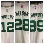 The three newest Celtics jerseys http://t.co/85cv9GxzBV