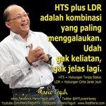 HTS plus LDR adalah kombinasi yang paling menggalaukan. Udah gak keliatan, gak jelas lagi. ???????????? http://t.co/mGIf6tB0w5