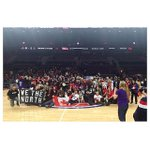 Raptors fans on the court after the win tonight in Detroit. http://t.co/kKjM38mNnk