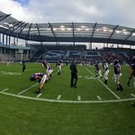 The @msumavericks and @gothunderwolves have taken the field for the @NCAADII Championship @SportingPark #KEYCinKC http://t.co/jt0m26CXtP