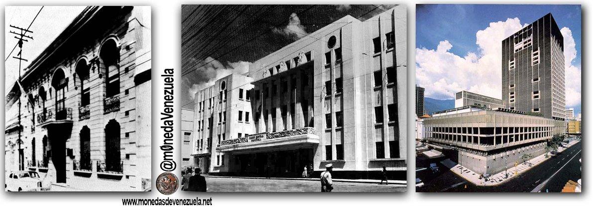Las Tres Sedes del Banco Central de Venezuela (1940-Actual). Lee su historia aquí: https://t.co/2U4d9QXRXY https://t.co/lIrqP8QabG