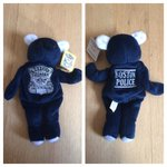 #BostonPolice Bear #beaniebaby ($10) limited Quantity available #BPD #Boston #Police #stockingstuffers http://t.co/LpElVc3S0U