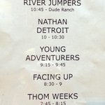 Timings for @FRESH_PUNK vs @DudeRanchClub #tonight w/ @riverjumpers @NathanDetroitUK @thomweeks & more! #brighton http://t.co/XQrNYHEUSK