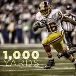 Congrats to RB Alfred Morris (@Trey_Deuces) for eclipsing the 1,000-yard rushing mark for a 3rd straight year! http://t.co/ysZUy7SNX3