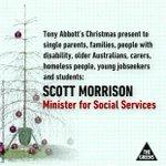 Abbotts Christmas present to Australias most vulnerable - Scott Morrison #auspol http://t.co/DaAh56QDQg