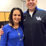 UK assistant coach Slice Rohrrsen joins @JenNimePalumbo for #ThisisKentuckyBasketball. Watch it now on WKYT. #BBN http://t.co/GixaQw0i9a