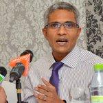 """@haveeru http://t.co/OS67OsNCJl http://t.co/fxAN5ngM11"" #Maldives #parliament majority leader attacks @USEmbSL & @eu_eeas #ShukuriyyaGaum"