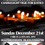 Join us in 30 minutes: #BlackLivesMatter #MillionsMarchNYC #ThisStopsToday #silentnight http://t.co/w2o9reUSCF