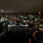 """@MPSinthesky: #London lit up this evening! #city #NightShift http://t.co/Nd3SK4PWOW"" #LoveLondon Phantastic pic ! @TheBorisBecker"