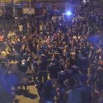 así anda la fiesta azul en Esmeraldas, provincia donde el bombillo también es muy querido http://t.co/fBFsJWouw3